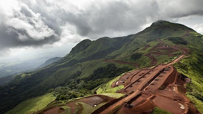Mt Simandou-Guinée