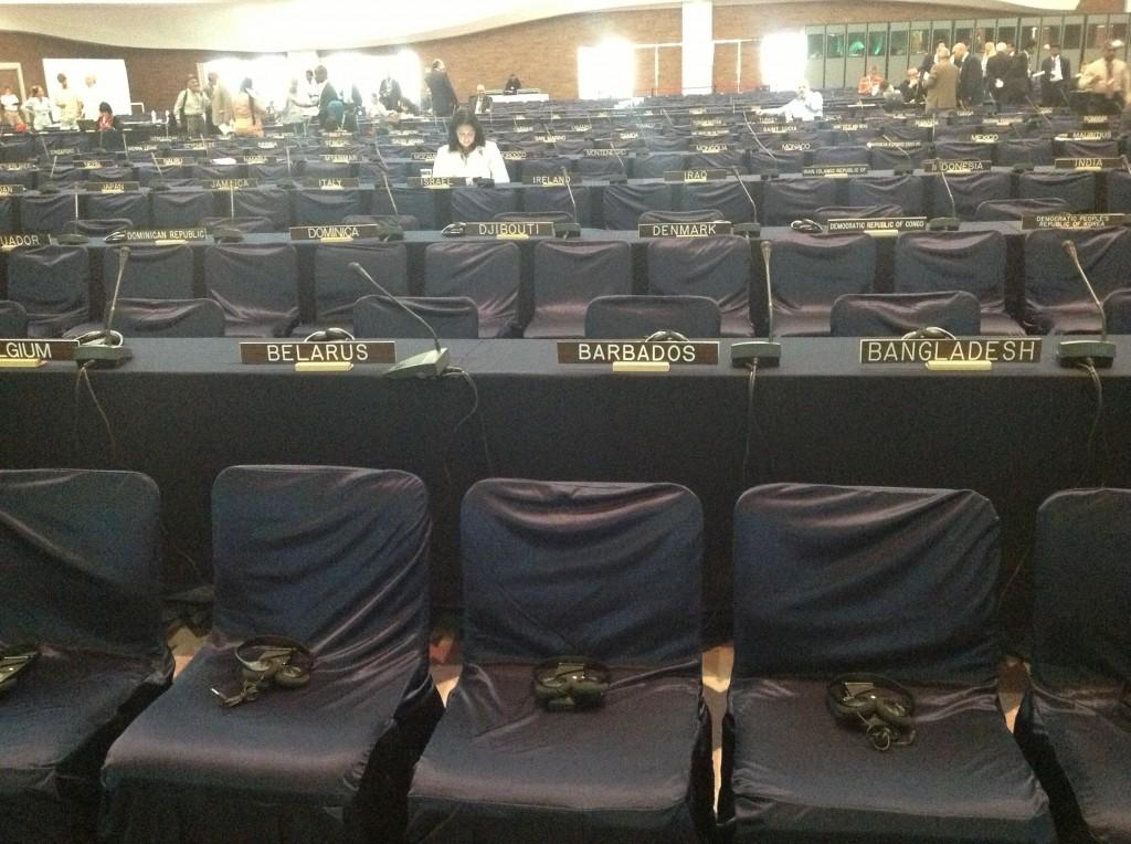 Salle plénière.