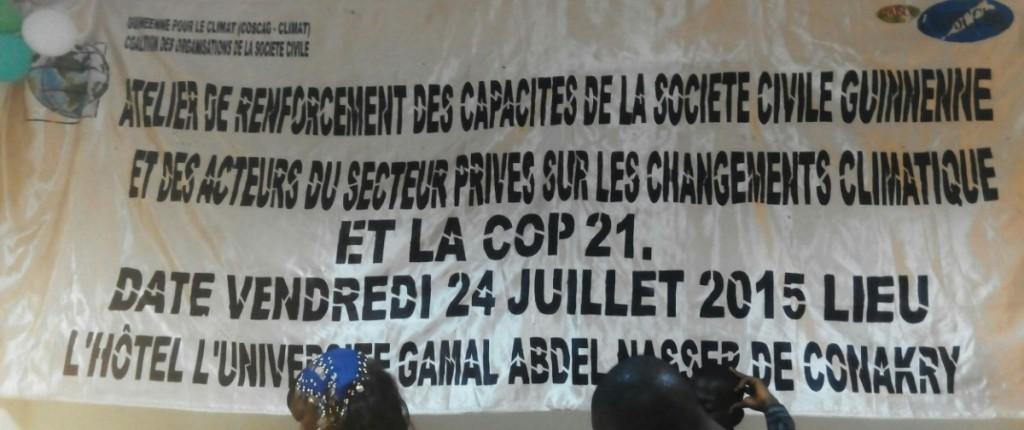 Atelier COP21-GUINE-COSCAG-GUINEE