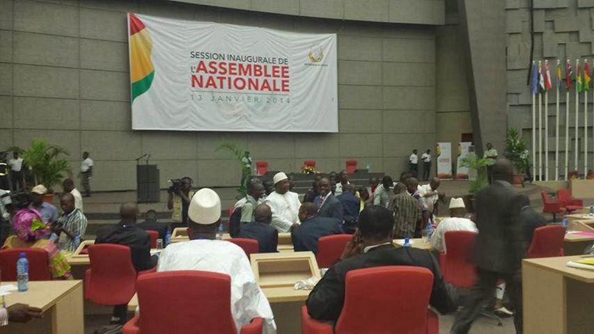 Session Inaugurale de l'Assemblée Nationale -Le 13 Janvier 2014