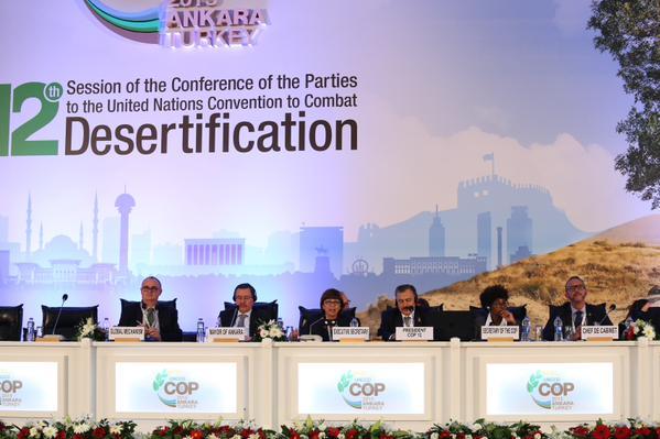 Présidium - Ouverture session plénière UNCCD-Ankara crédit photo @Ankaracop12