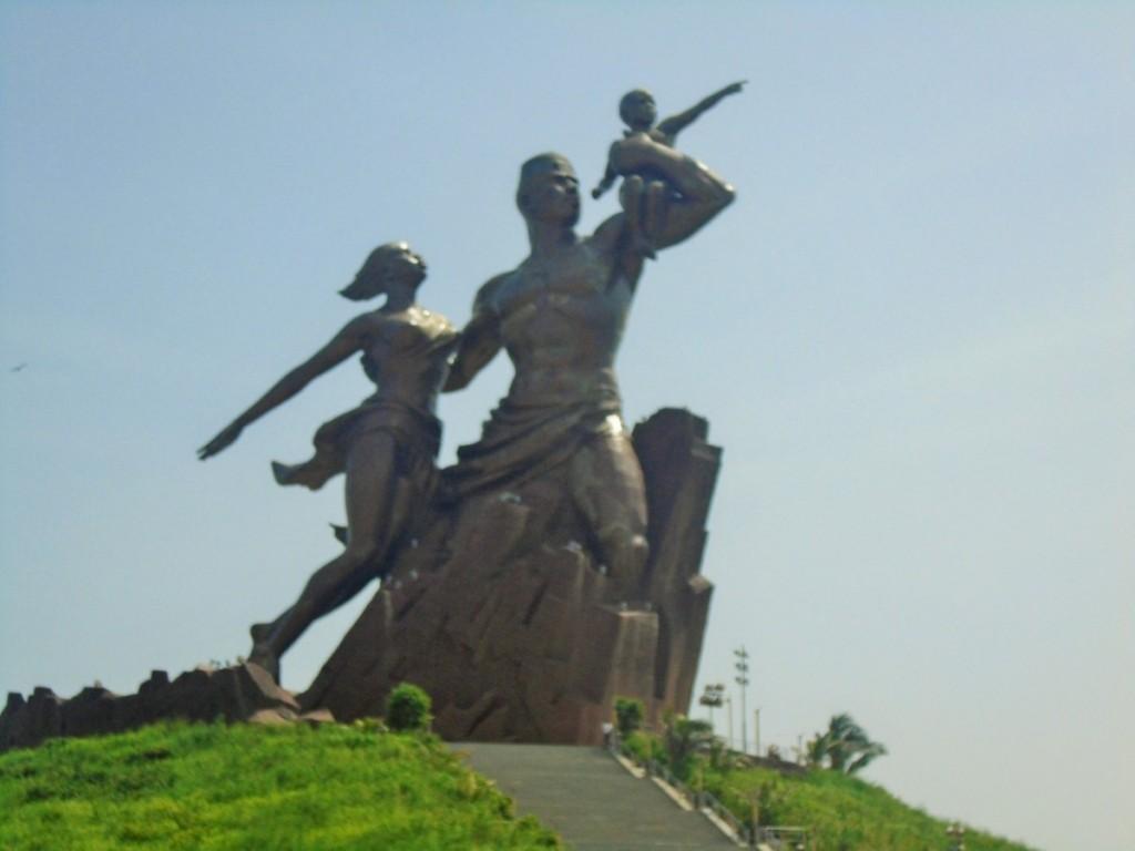 Le monument de la renaissance africaine