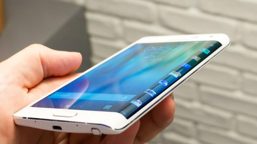 Un modèle de smartphone dernière génération