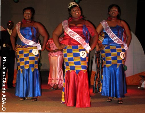 Crédit photo: Afrik.com -Miss Nana Benz Togo