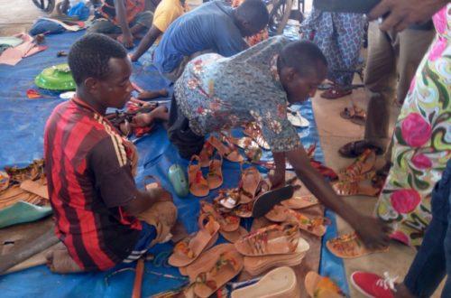 Article : De la rue à l'entreprenariat: les handicapés du groupement Wakilarè, ont relevé le défi